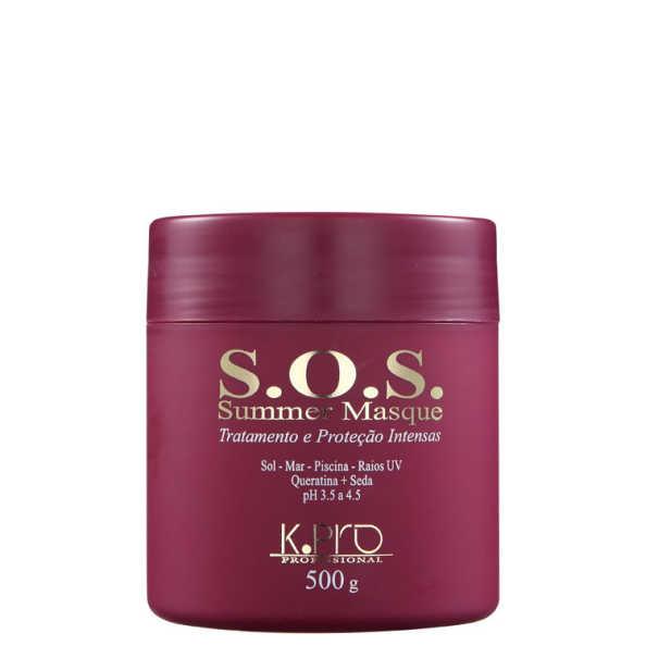 K.Pro S.O.S. Summer Masque Proteção Intensa - Máscara de Tratamento 500g