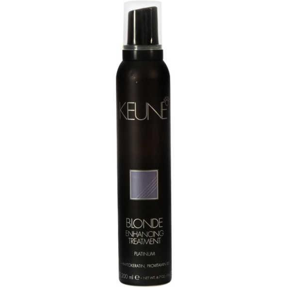 Keune Blonde Enhancing Treatment Platinum - Tratamento 200ml