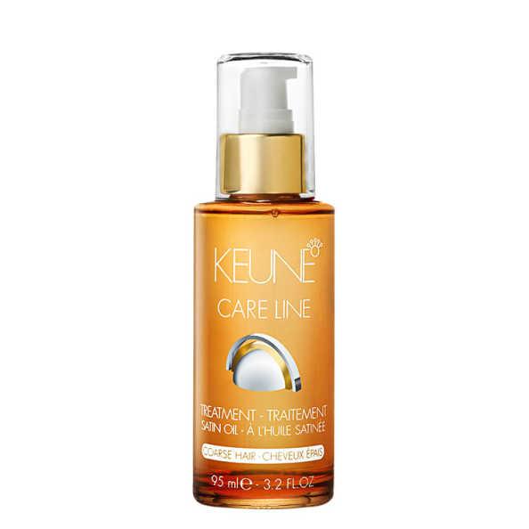 Keune Care Line Satin Oil Treatment Coarse Hair - Óleo Finalizador 95ml