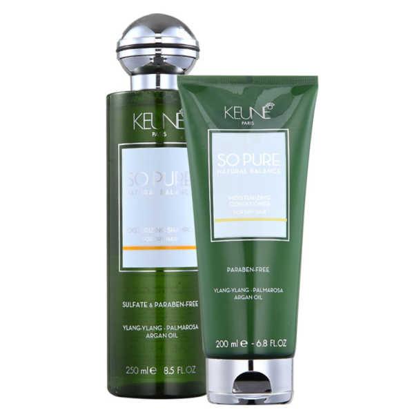 Keune So Pure Moisturizing Duo Kit (2 Produtos)