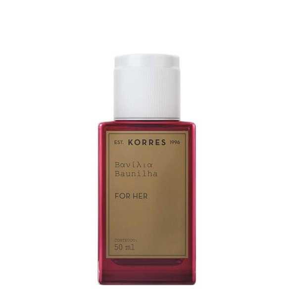 Korres Perfume Feminino Baunilha - Eau de Cologne 50ml