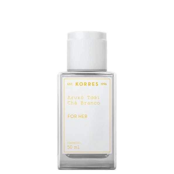 Korres Perfume Feminino Chá Branco - Eau de Cologne 50ml