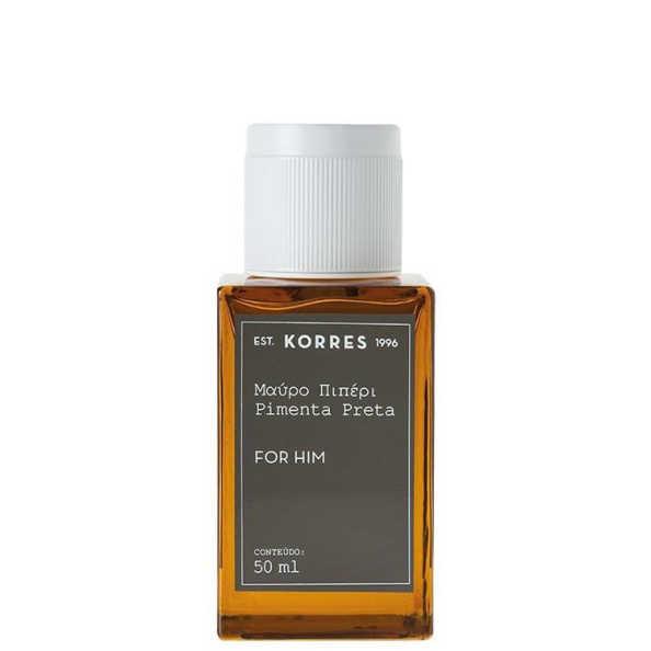 Korres Perfume Masculino Pimenta Preta - Eau de Cologne 50ml