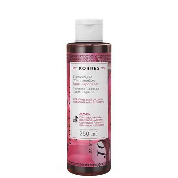 Korres Rosa Japonesa - Sabonete Líquido Hidratante 250ml