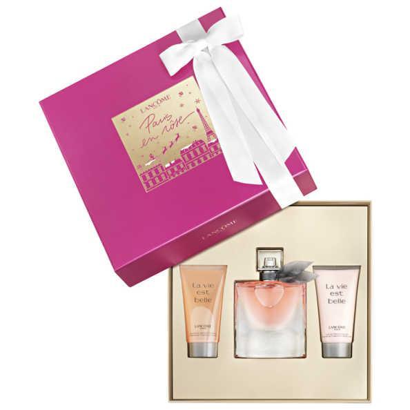 Lancôme Conjunto Feminino La Vie Est Belle - Eau de Parfum 50ml + Gel de Banho 50ml + Loção Corporal 50ml