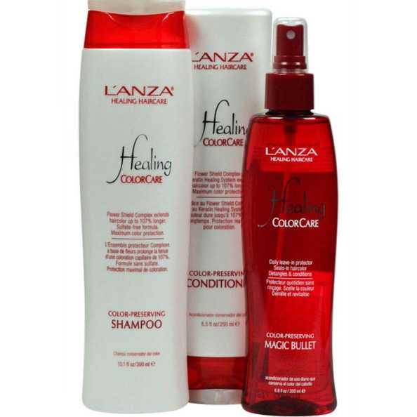 L'Anza Healing Colorcare Magic Kit (3 Produtos)