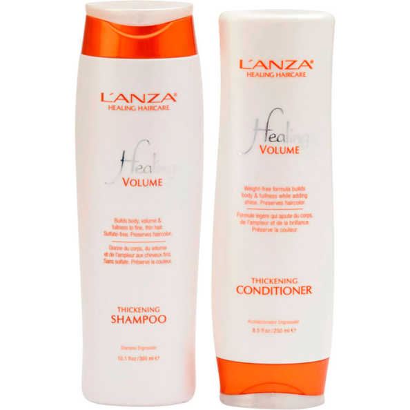 L'Anza Healing Volume Duo Kit (2 Produtos)