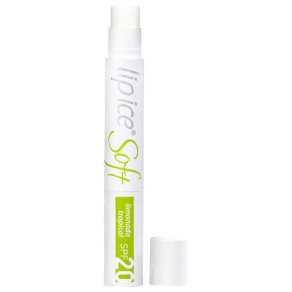 Lip Ice Soft Limonada Tropical FPS 20 - Protetor Labial 2g