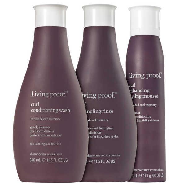 Living Proof Curl Mousse Kit (3 Produtos)