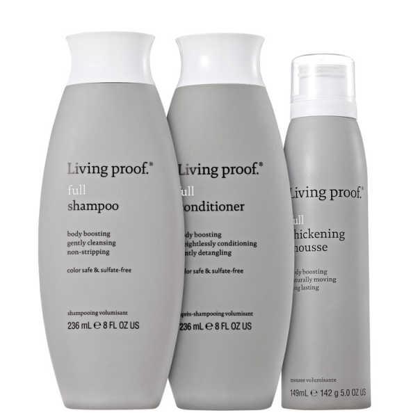 Living Proof Full Mousse Kit (3 Produtos)