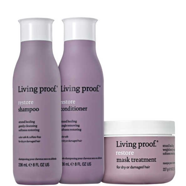 Living Proof Restore Mask Kit (3 Produtos)