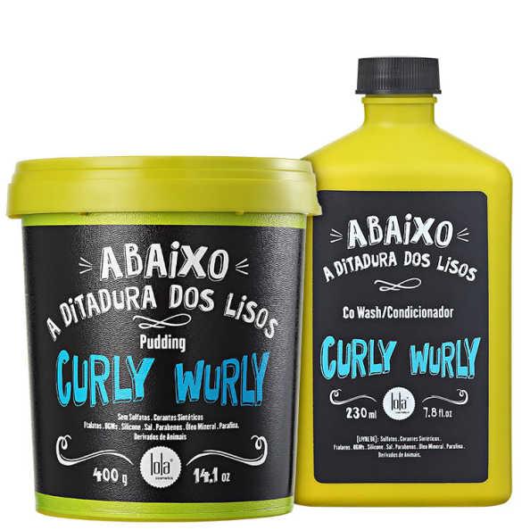 Lola Cosmetics Curly Wurly Duo Kit (2 Produtos)