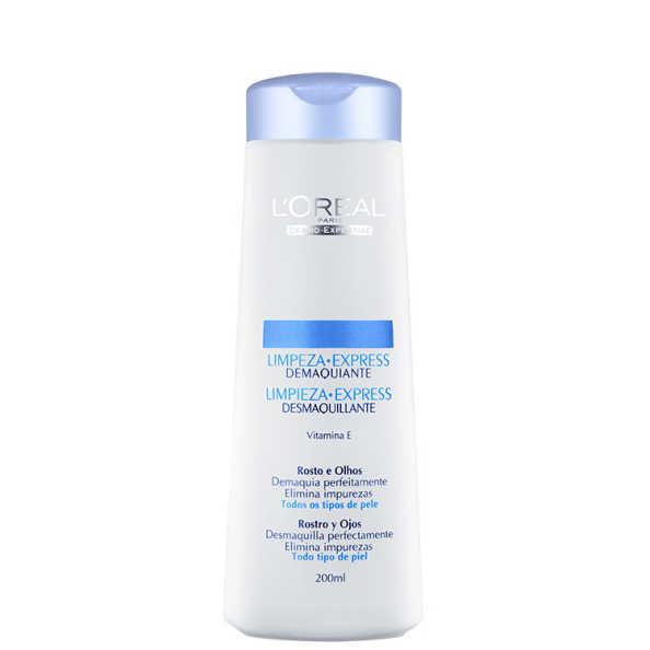 L'Oréal Paris Dermo-Expertise Limpeza Express Rosto e Olhos – Demaquilante 200ml