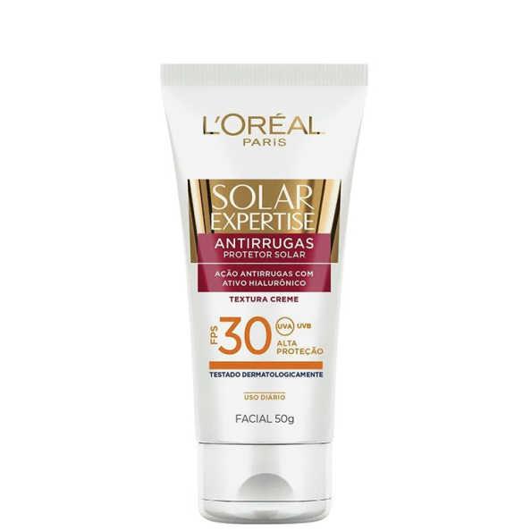 L´Oréal Paris Solar Expertise Facial Bloqueador Solar Facial Antirrugas FPS 30 - Protetor Solar 50g