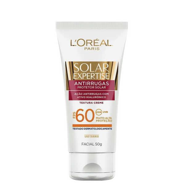 L´Oréal Paris Solar Expertise Facial Bloqueador Solar Facial Antirrugas FPS 60 - Protetor Solar 50g