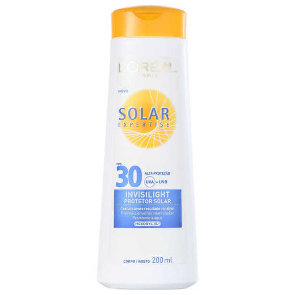 L´Oréal Paris Solar Expertise Invisilight FPS 30 - Protetor Solar 200ml
