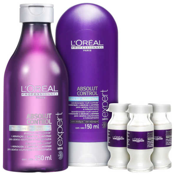 L'Oréal Professionnel Absolut Control Treatment Kit (3 Produtos)