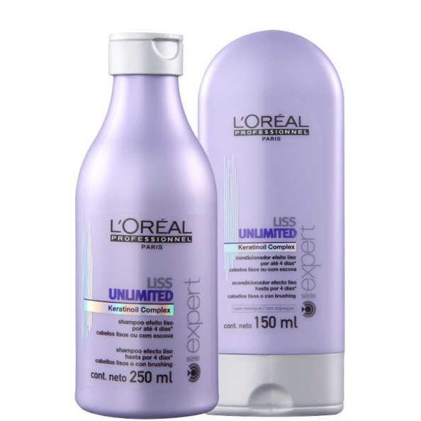 L'Oréal Professionnel Liss Unlimited Duo Kit (2 Produtos)