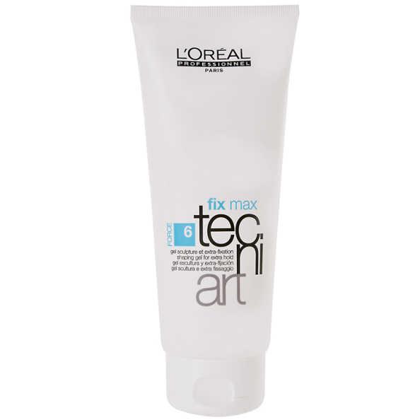 L'Oréal Professionnel Tecni Art Fix Max Gel Force 6 - Gel Fixador Extraforte 200ml