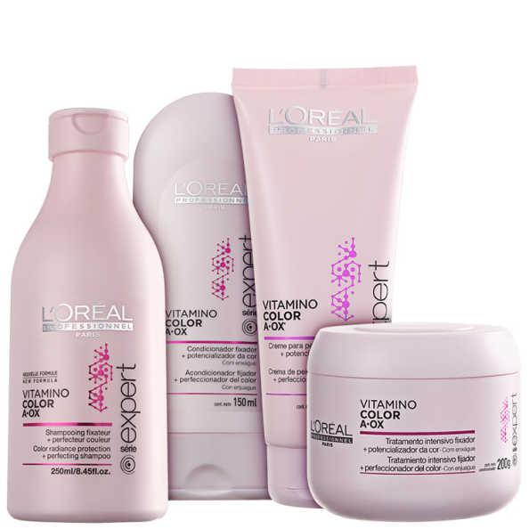 L'Oréal Professionnel Vitamino Color  A.OX Total Kit (4 Produtos)