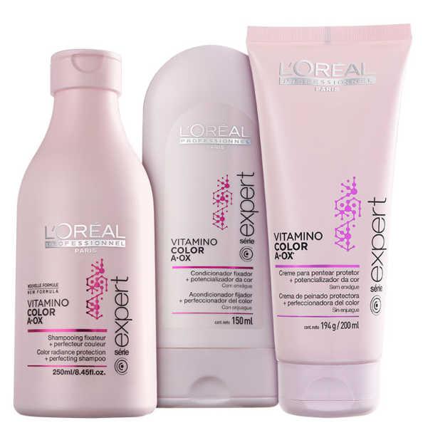 L'Oréal Professionnel Vitamino Color  A.OX Triplo Kit (3 Produtos)