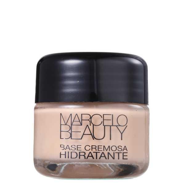 Marcelo Beauty Base Hidratante Bege Natural - Base Cremosa 30g