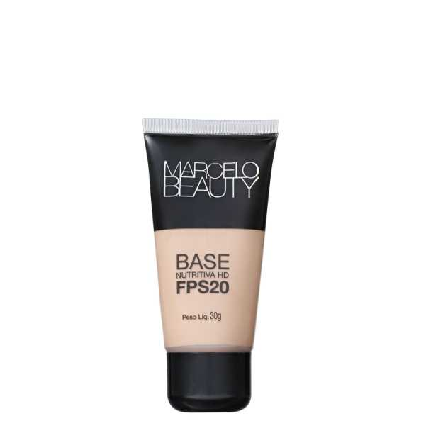 Marcelo Beauty Nutritiva HD Fps 20 Clara - Base 30g