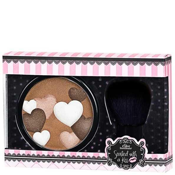 Markwins For You Too - Iluminador Facial Brown + Pincel Kabuki
