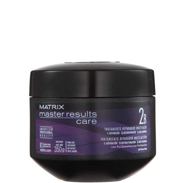 Matrix Master Results Care Tratamento Reparador Multi-Ação - Máscara 350g