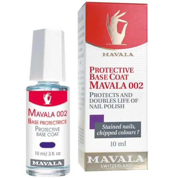 Mavala 002 Protective Coat - Base Incolor para Unhas 10ml
