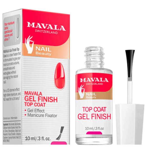 Mavala Gel Finish Top Coat – Finalizador de Esmalte 10ml