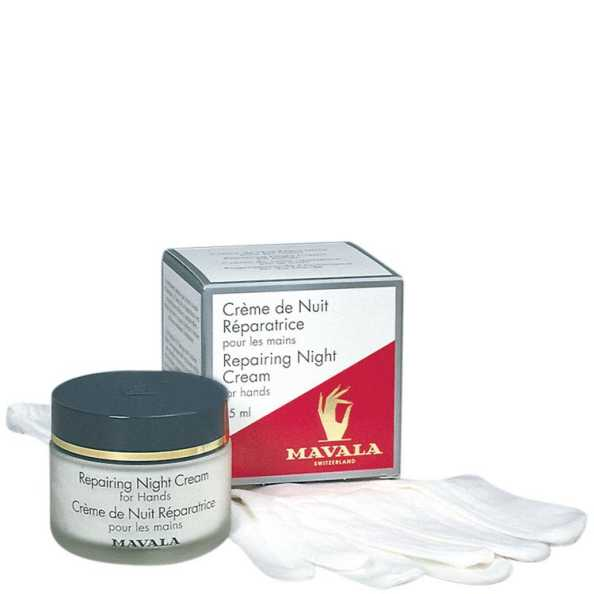 Mavala Repairing Night Cream - Creme Reparador Noturno para as Mãos 75ml