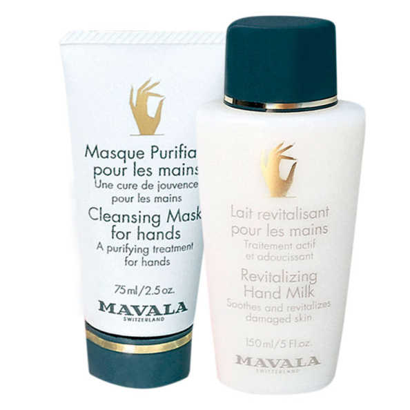Mavala Repairing Night Cream for Hands e Revitalizing Hand Milk (2 Produtos)