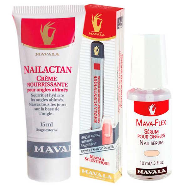 Mavala Scientifique Pen e Nailactan Cream e Mavaflex (3 Produtos)