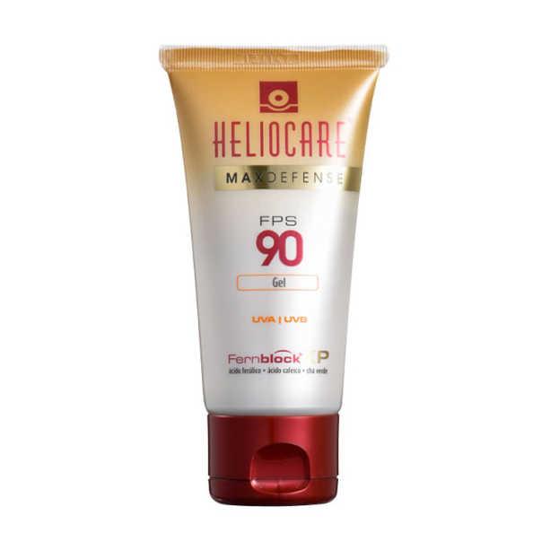 Melora Heliocare Max Defense FPS 90 - Protetor Solar Facial em Gel 50g
