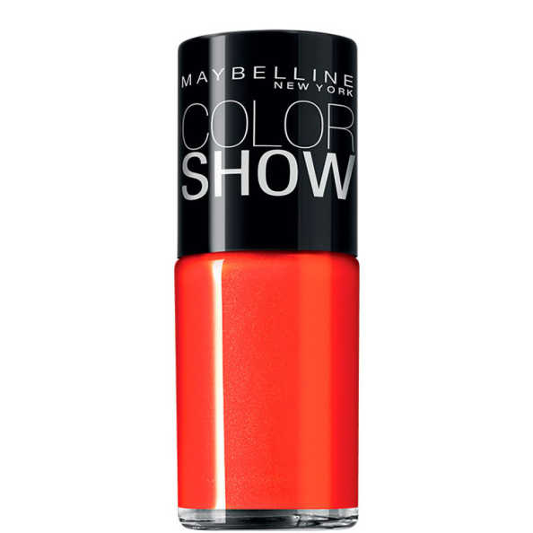 Maybelline Color Show 240 Vibrant Orange - Esmalte 10ml