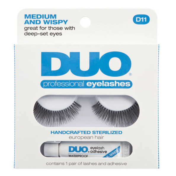 Duo Medium and Wispy - Cílios Postiços Com Cola 2,5g