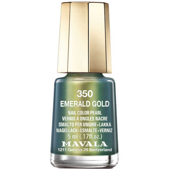 Mavala Mini Color Emerald Gold - Esmalte 5ml