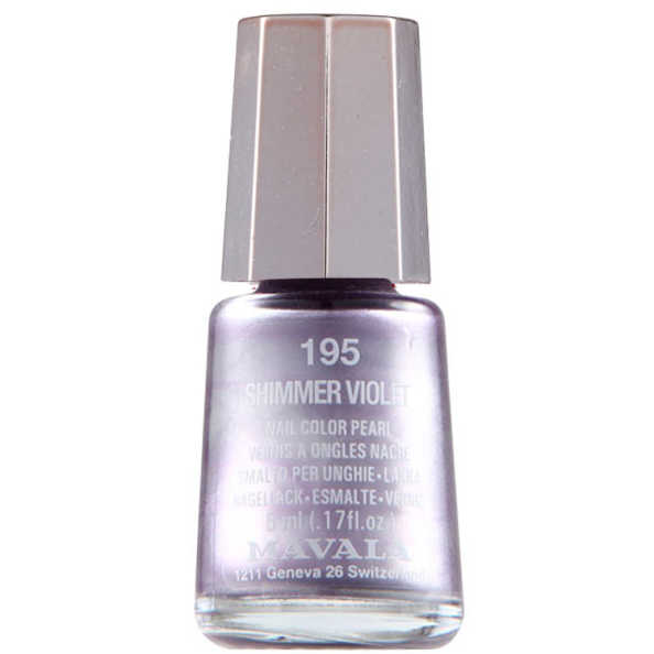 Mavala Mini Color Shimmer Violet - Esmalte 5ml