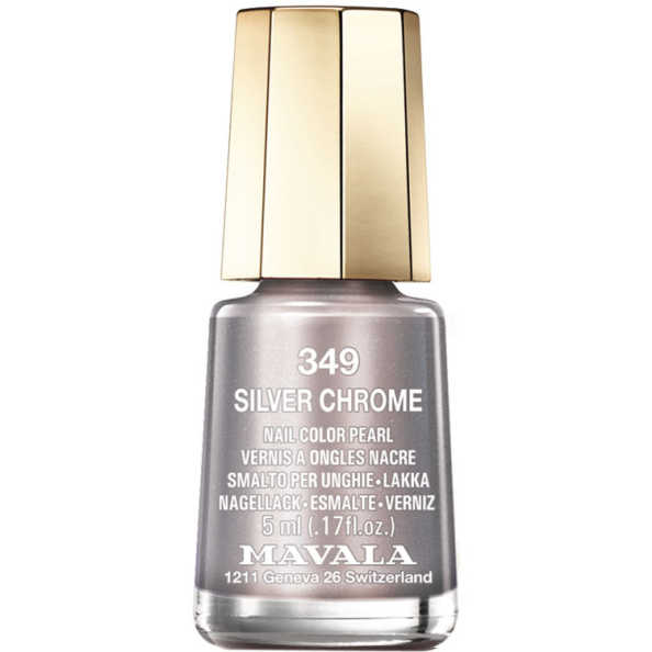 Mavala Mini Color Silver Chrome - Esmalte 5ml