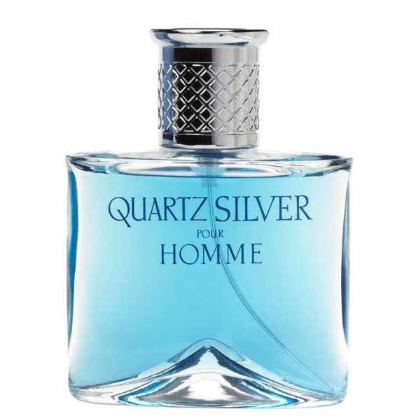 Quartz Silver Homme Molyneux Eau de Toilette - Perfume Masculino 50ml