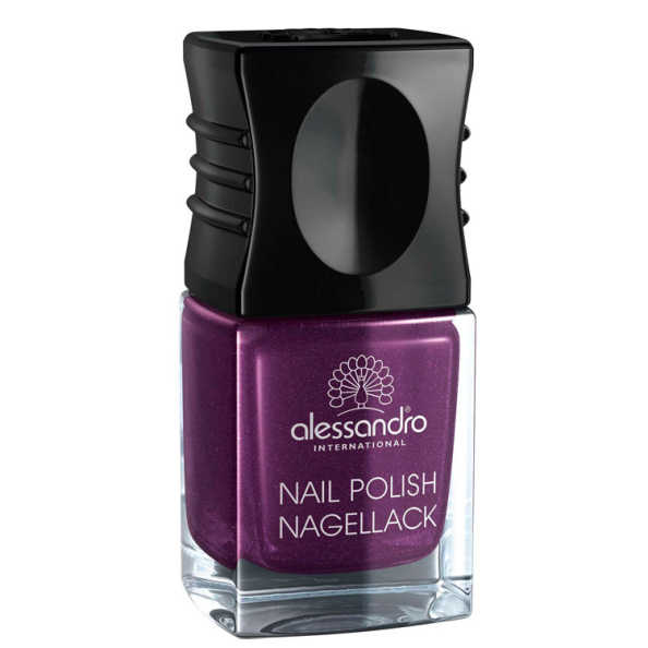 Alessandro Nail Polish Purple Purpose Glitter - Esmalte 10ml