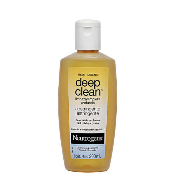 Neutrogena Deep Clean Adstringente - Tônico Facial 200ml