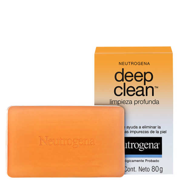 Neutrogena Deep Clean - Sabonete Facial 80g