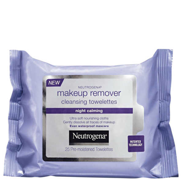 Neutrogena Night Calming - Lenços Demaquilantes 25un