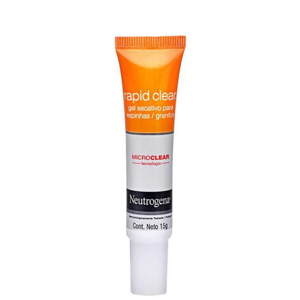 Neutrogena Rapid Clear Gel Secativo para Espinhas - Redutor de Acne 15g