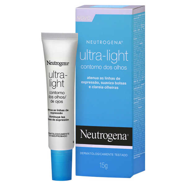 Neutrogena Ultra-Light Olhos - Creme Para o Contorno dos Olhos 15g