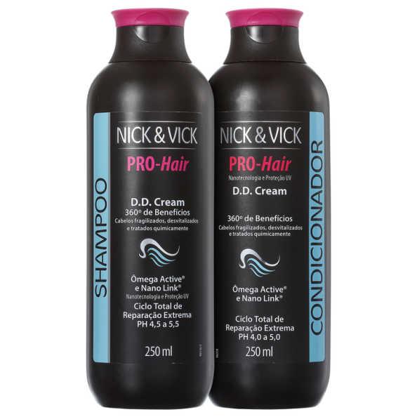 Nick & Vick PRO-Hair D.D. Cream 360º Reparação Completa Kit (2 Produtos)