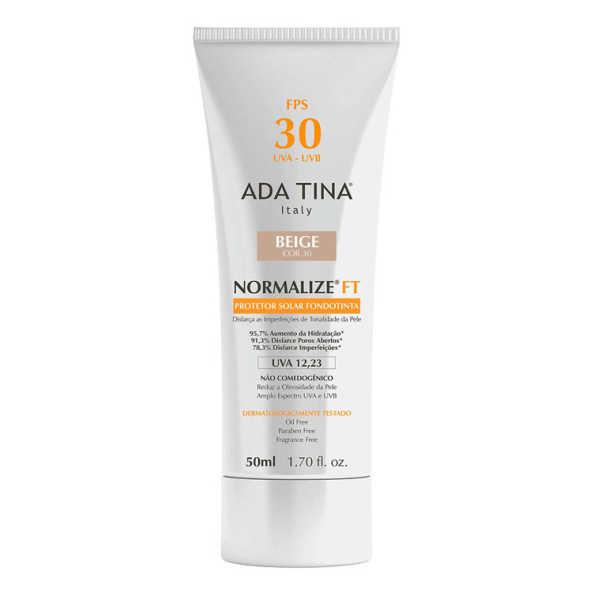 Ada Tina Normalize Ft Fondotinta Fps 30 Beige Cor 30 - Protetor Solar Com Cor 50ml