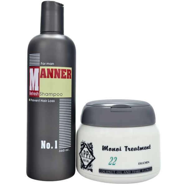 N.P.P.E. Manner Monoi Kit (2 Produtos)